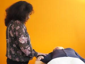 Behandlungsausschnitt Kinesiologie für Erwachsene