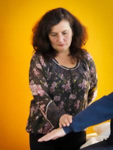 Ausschnitt Behandlung Kinesiologie für Erwachsene